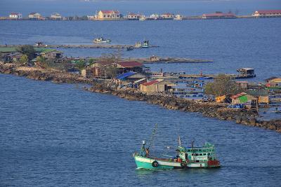 Fishing Village in Sihanoukville Port, Sihanouk Province, Cambodia, Indochina, Southeast Asia, Asia-Richard Cummins-Photographic Print