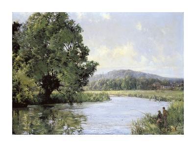 Fishing-Montague Dawson-Premium Giclee Print