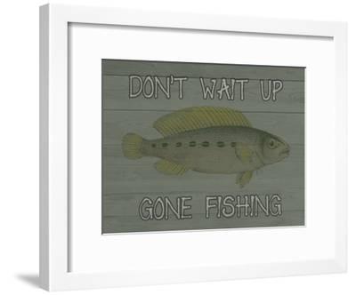 Fishing-Sheldon Lewis-Framed Art Print