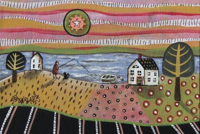 Fishing-Karla Gerard-Giclee Print