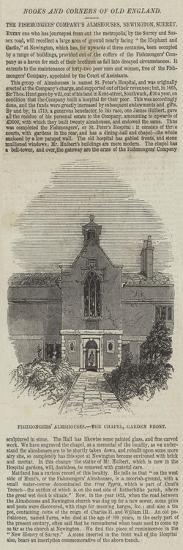 Fishmongers' Almshouses, the Chapel, Garden Front--Giclee Print