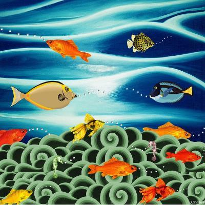 Fishtales I-David Sheskin-Giclee Print