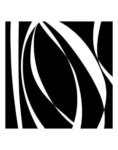 Fistral Nero Blanco I-Denise Duplock-Art Print