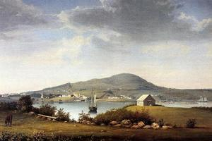 Blue Hill, Maine, Usa, C.1853-57 by Fitz Henry Lane