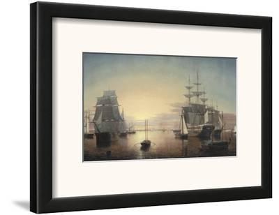 Boston Harbor, c.1855
