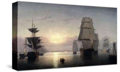 Sunset, Boston Harbor