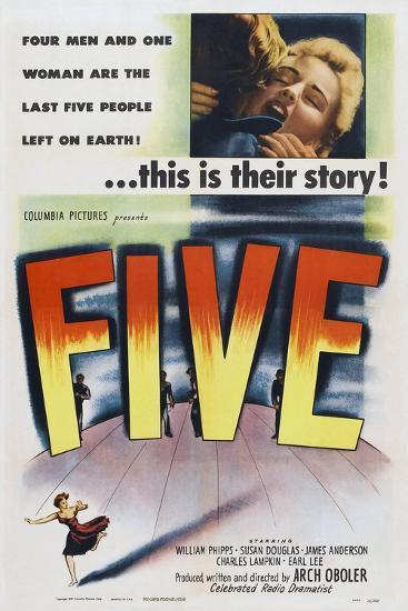 Five, 1951--Art Print