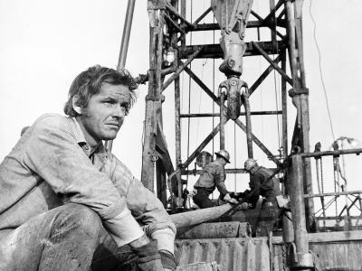 Five Easy Pieces, Jack Nicholson, 1970, Working at the Oil Well--Photo