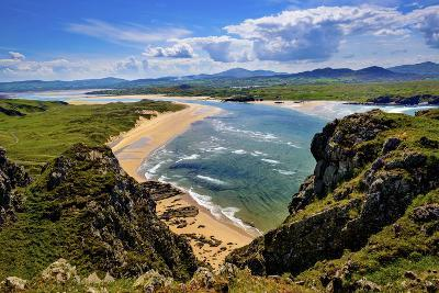 Five Fingers Strand at Malin in Donegal-Chris Hill-Photographic Print
