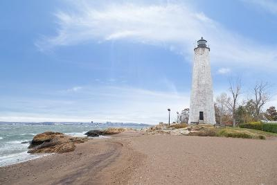 Five Mile Point Lighthouse in New Haven CT-beyond_a_snapshot-Photographic Print