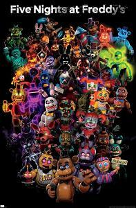 Five Nights at Freddy's: Special Delivery - Collage
