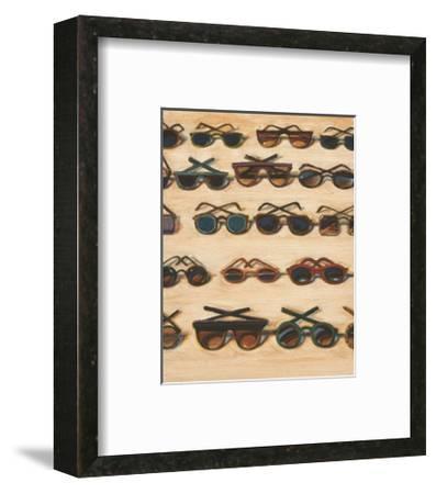 Five Rows of Sunglasses, 2000-Wayne Thiebaud-Framed Art Print