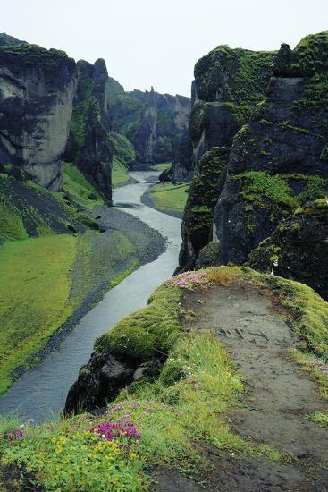 Fjardara Canyon-Dirk Wiersma-Photographic Print
