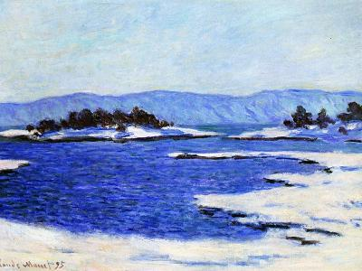 Fjord at Christiania, Norway, 1895-Claude Monet-Giclee Print
