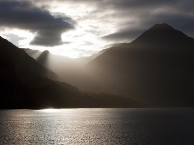 Fjord, Thomson Sound, South Island, New Zealand, Pacific-Thorsten Milse-Photographic Print
