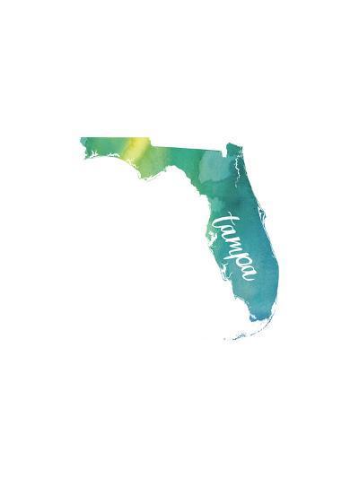 FL Tampa-Paperfinch-Art Print