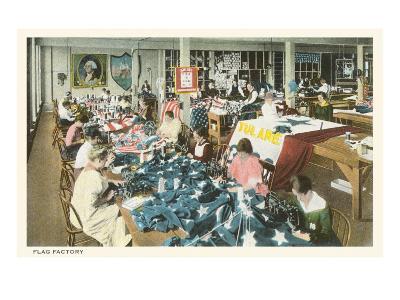 Flag Factory--Art Print