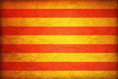 Flag Of Catalonia-michal812-Art Print