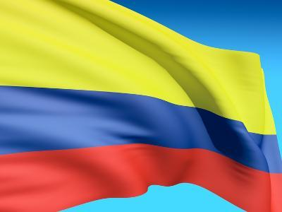 Flag Of Colombia-bioraven-Art Print