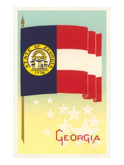 Flag of Georgia--Art Print