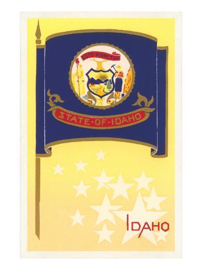 Flag of Idaho--Art Print