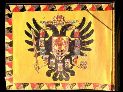 Flag of the Imperial Habsburg Dynasty, circa 1700--Giclee Print