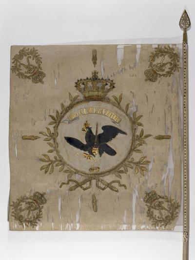 Flag of the Prussian Infantry-German School-Giclee Print