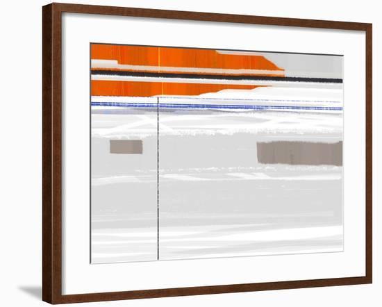 Flag-NaxArt-Framed Art Print