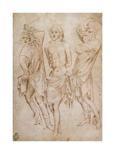 Flagellation of Christ, by Stefano Da Verona--Giclee Print