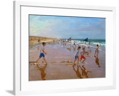 Flags and Reflections, Montalivet-Andrew Macara-Framed Giclee Print