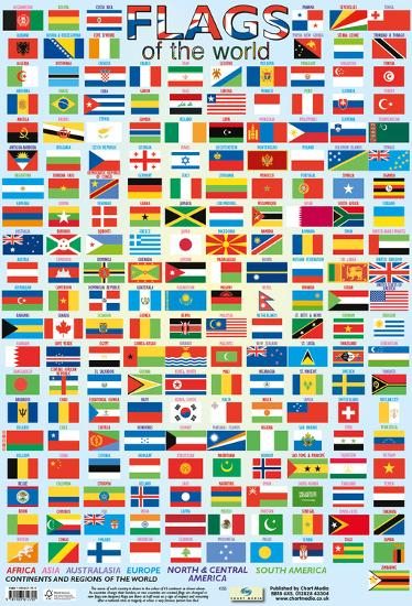 Flags Of The World--Poster