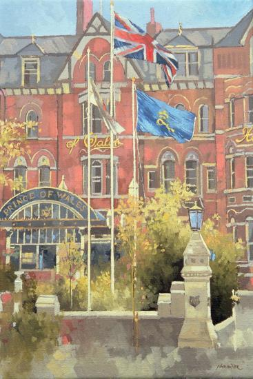 Flags Outside the Prince of Wales, Southport, 1991-Peter Miller-Giclee Print