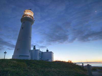 Flamborough Lighthouse, Flamborough, East Yorkshire, Yorkshire, England, United Kingdom, Europe-Wogan David-Photographic Print