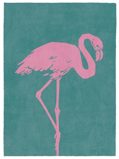 Flamboyant Flamingo-Clara Wells-Giclee Print