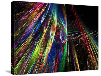 Flame Burst-Tatiana Lopatina-Stretched Canvas Print