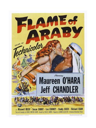 Flame of Araby--Giclee Print