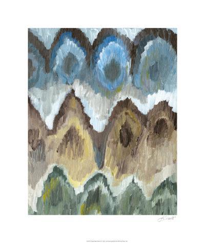 Flame Stitch Pattern II-Lisa Choate-Limited Edition