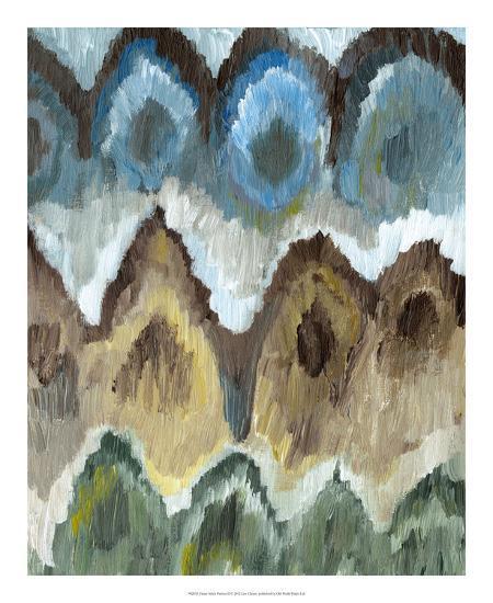 Flame Stitch Pattern II-Lisa Choate-Premium Giclee Print
