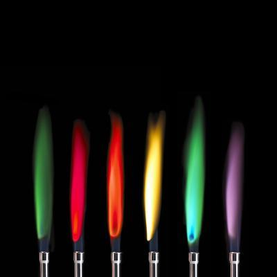Flame Test Sequence-Science Photo Library-Photographic Print