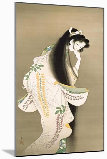 Flame-Shoen Uemura-Mounted Premium Giclee Print