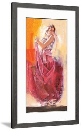 Flamenco Dance-Talantbek Chekirov-Framed Premium Giclee Print