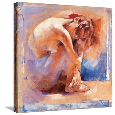 Flamenco Dance-Talantbek Chekirov-Stretched Canvas Print
