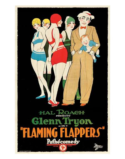 Flaming Flappers - 1925--Giclee Print