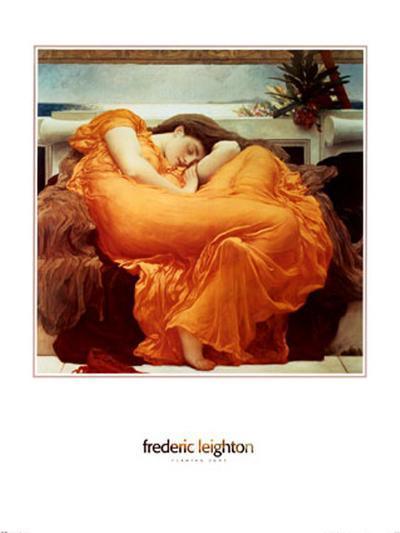 Flaming June, c.1895-Frederick Leighton-Art Print