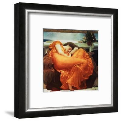 Flaming June-Frederick Leighton-Framed Giclee Print