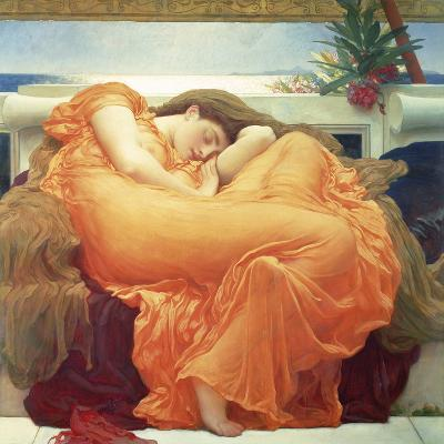Flaming June-Lord Frederic Leighton-Giclee Print