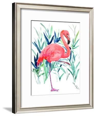 Flamingo 2-Suren Nersisyan-Framed Art Print