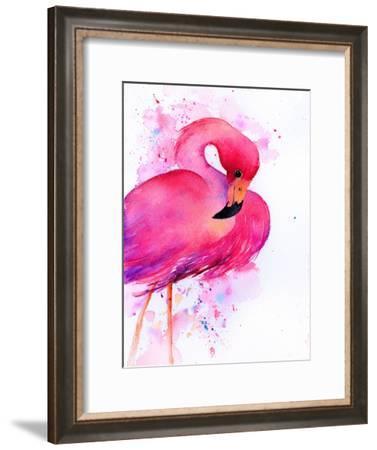 Flamingo 2-Rachel McNaughton-Framed Art Print