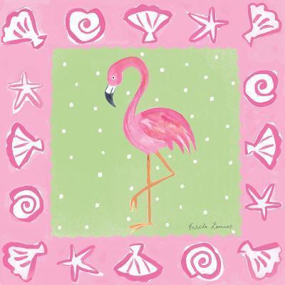 Flamingo Dance II-Farida Zaman-Art Print