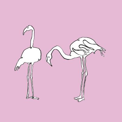 Flamingo Duo-Sandra Jacobs-Giclee Print